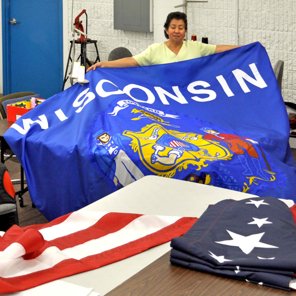 Proudly Manufactured in Wisconsin!